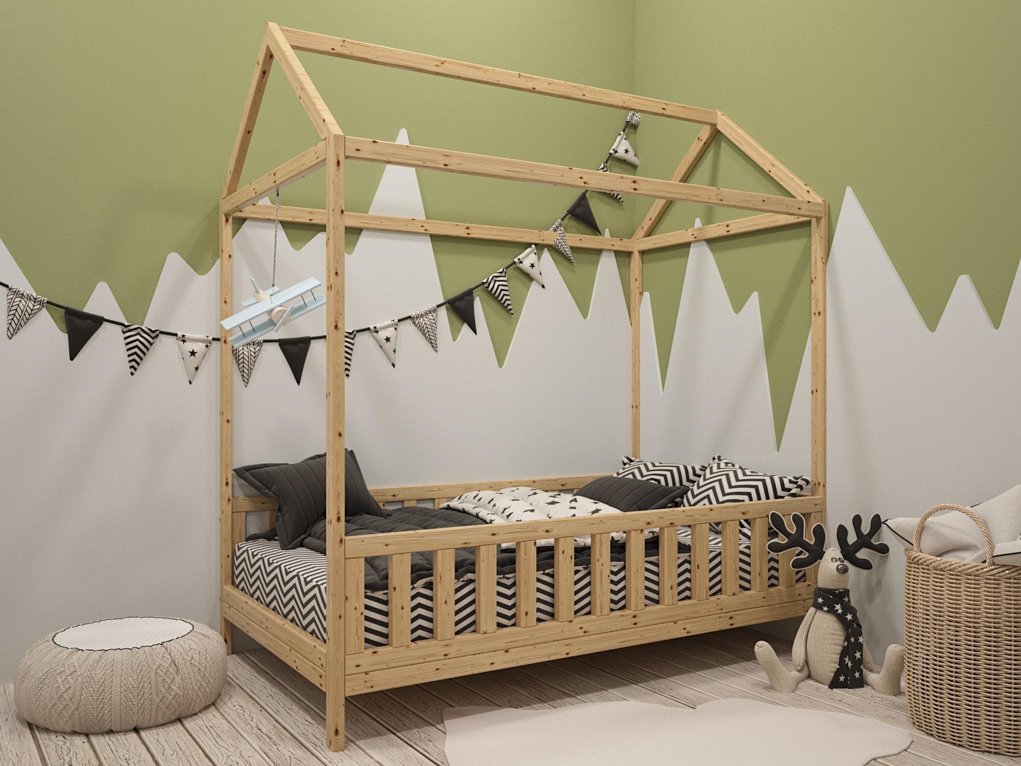 Детская кровать домик в Москве